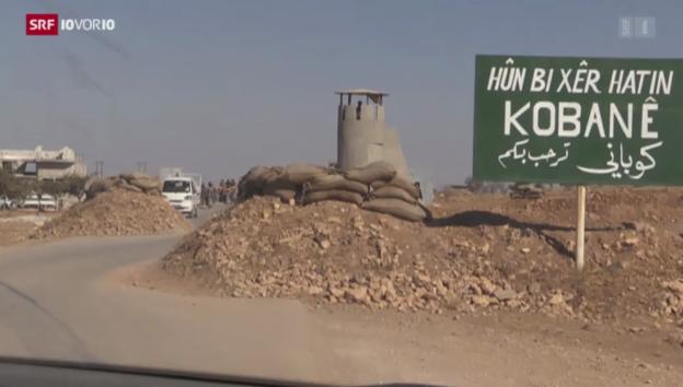 Video «Reportage aus einer vom IS belagerten Stadt» abspielen