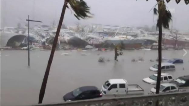 Video ««Irma» fegt über Guadeloupe und Barbuda» abspielen