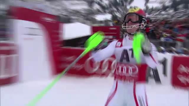 2. Lauf Marcel Hirscher («sportlive»)