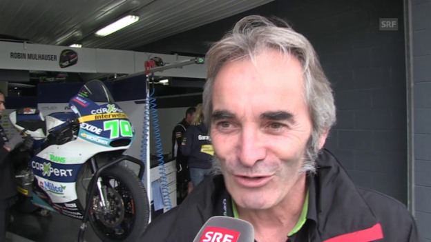 Video «Motorrad: Interview mit Gilles Bigot» abspielen