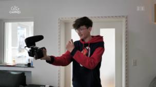 Video «Zuhause bei Youtube-Star «HeyMoritz»» abspielen