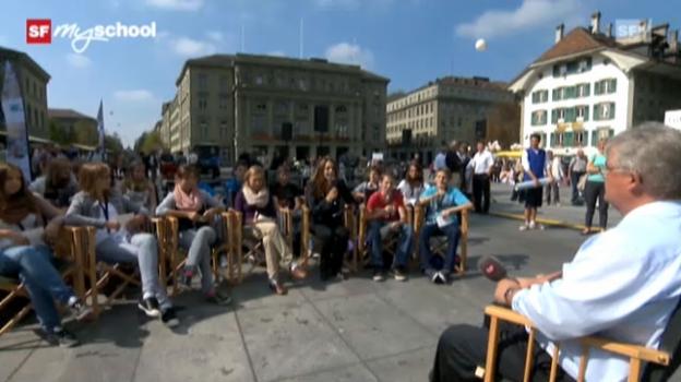 Video «Treffpunkt Bundesplatz: Live-Interview (5/11)» abspielen