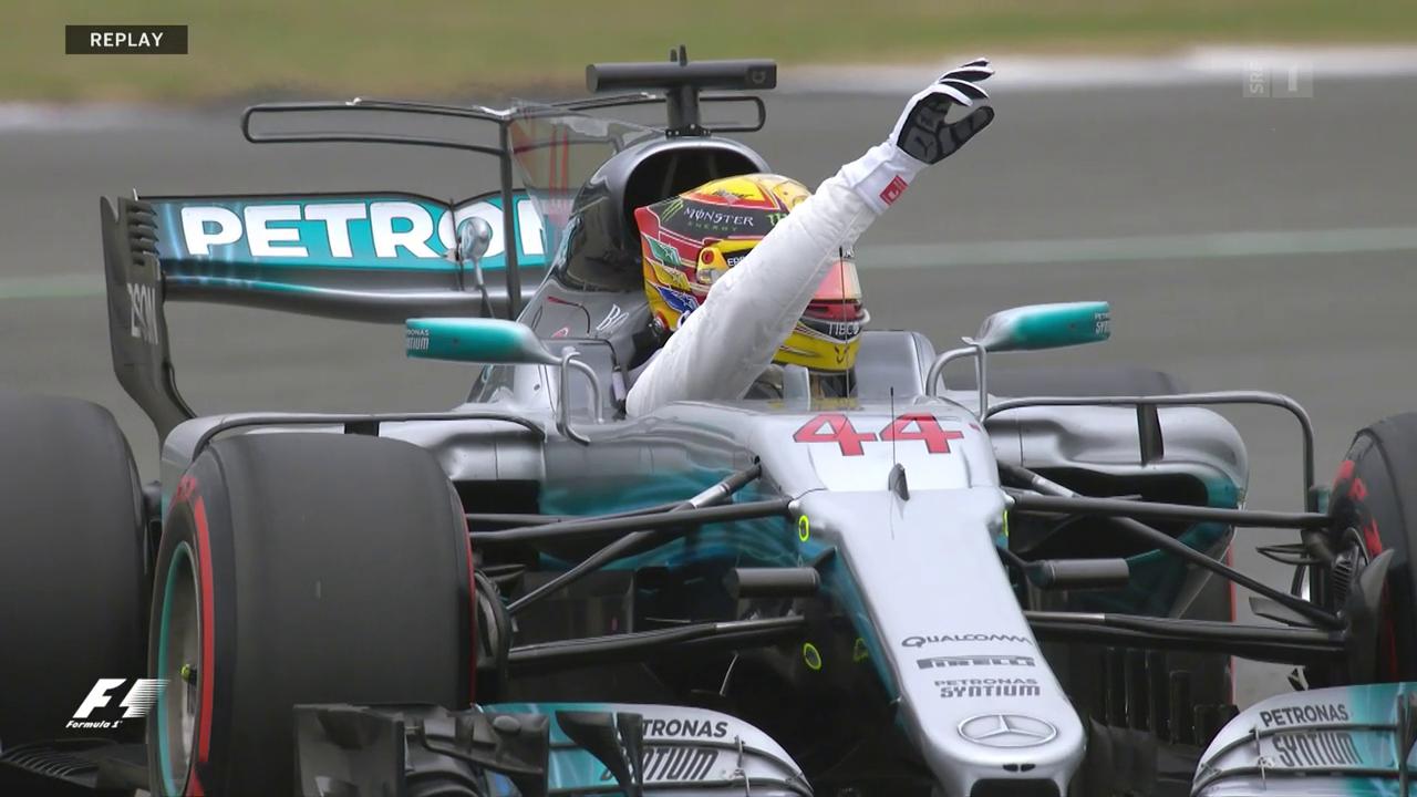 Lewis Hamilton startet beim Heimrennen von der Pole Position