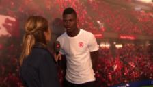 Video «Fussballstar Embolo am Tunnelfest» abspielen