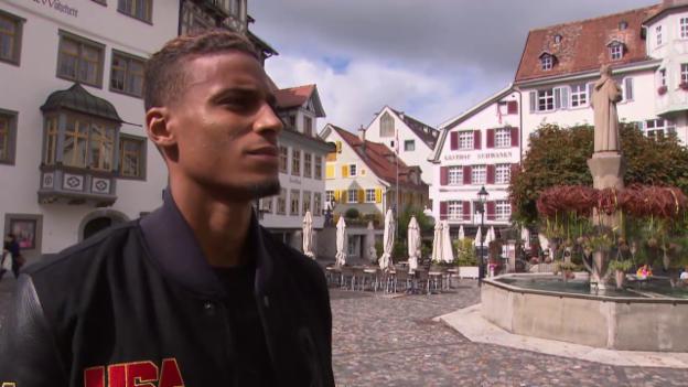 Video «Fussball: Super League, Porträt Martin Angha» abspielen