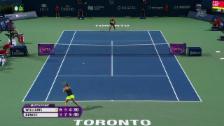 Video «Tennis: Belinda Bencic besiegt Serena Williams» abspielen