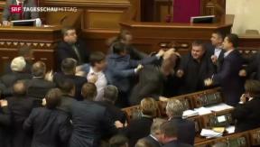 Video «Krim-Krise weitet sich aus» abspielen