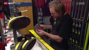 Video ««Tscheggsch de Pögg» – wie findet man das richtige Skiwachs?» abspielen