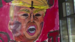 Video «Proteste gegen Donald Trump » abspielen
