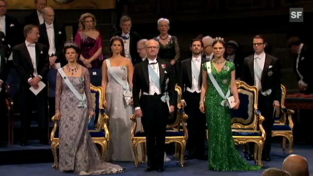 Nobelfest in Stockholm: Chris O'Neill lässt Madeleine sitzen.