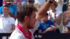 Video «Tennis: Schweizer Grosskampftag in Rom» abspielen