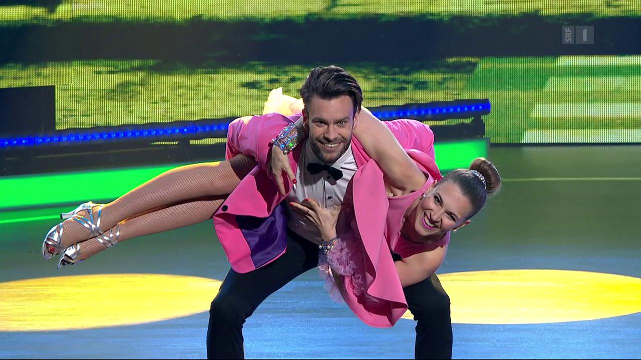 Michel Birri und Svetlana Guggenbühl mit einem Jive zu «Happy»