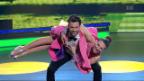 Video «Michel Birri und Svetlana Guggenbühl mit einem Jive zu «Happy»» abspielen