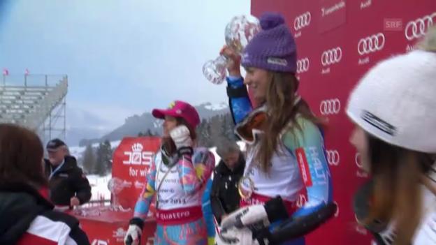 Video «Ski: Maze und Svindal holen Super-G-Kugel» abspielen