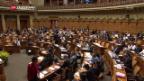 Video «Nationalrat berät neue Regeln zum Anlegerschutz» abspielen