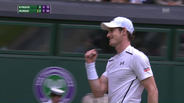 Video «Murrays Ass zum Sieg» abspielen