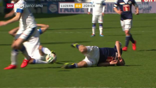 Video «Fussball: Super League, Luzern - Zürich» abspielen