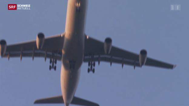 Video «Neustart im Fluglärmstreit» abspielen