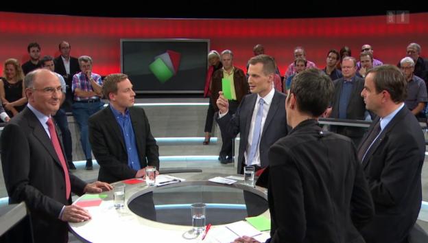 Video «Arena: Wahlkampf um Bilaterale» abspielen