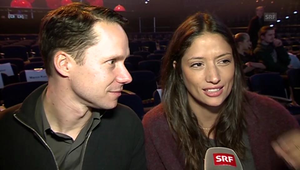 Die «SMA»-Moderatoren Melanie Winiger und Mario Torriani im Interview