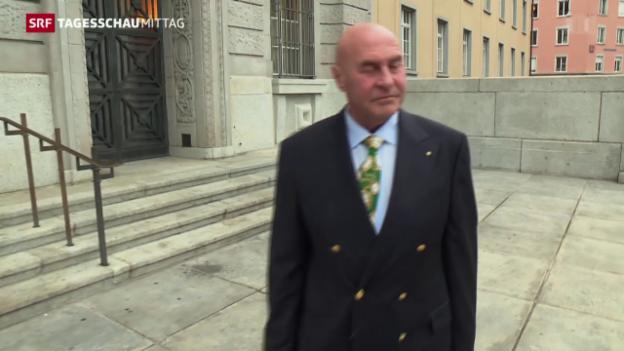 Video «Leis Verteidiger fordert Freispruch in allen Punkten» abspielen