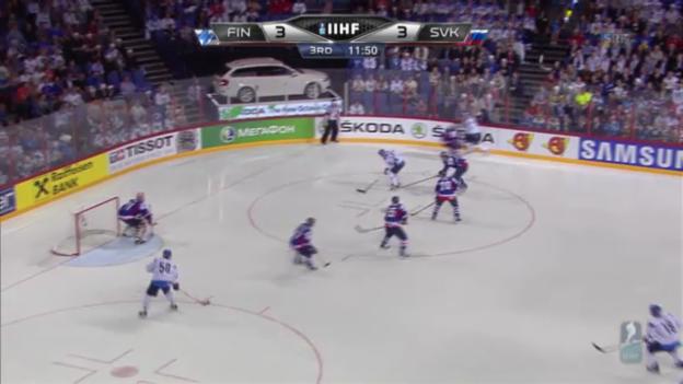 Video «Viertelfinal Finnland - Slowakei» abspielen