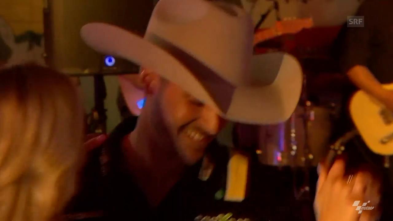 Tanzender Lüthi in Texas
