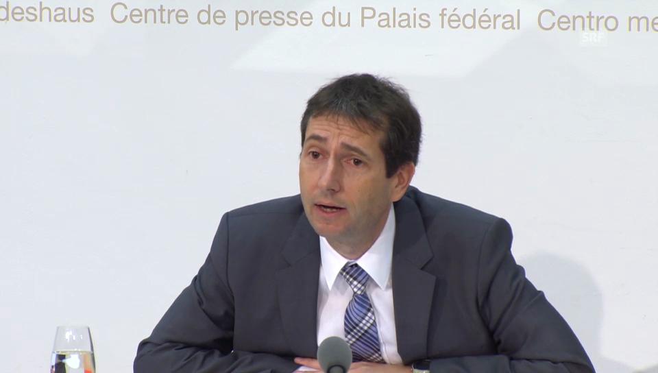 Bundesratssprecher Simonazzi zur Ebola-Mission (franz.)