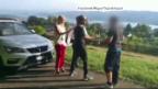 Video «Werbestar: Attacke bei Dreharbeiten» abspielen