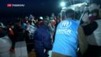 Video «Spannung vor Umsetzung des Flüchtlingsabkommens» abspielen