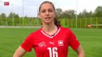 Video «Fussball: Nationalspielerin Fabienne Humm im Porträt» abspielen