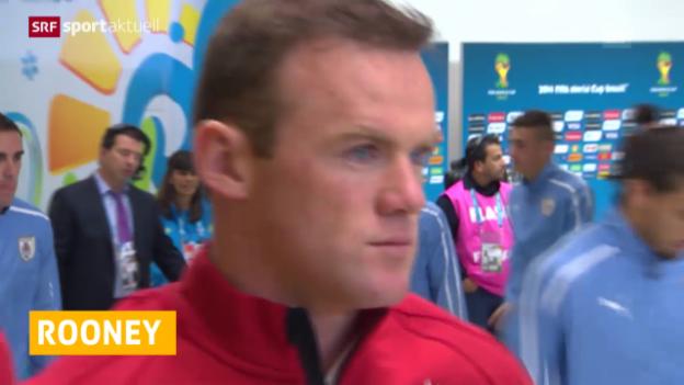 Video «Fussball: Rooney neuer Captain von England» abspielen
