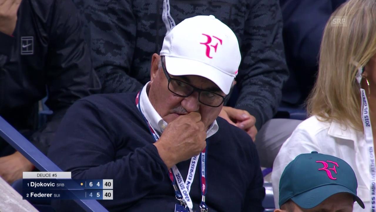 Tennis: US Open, Final, Emotionen der Zuschauer