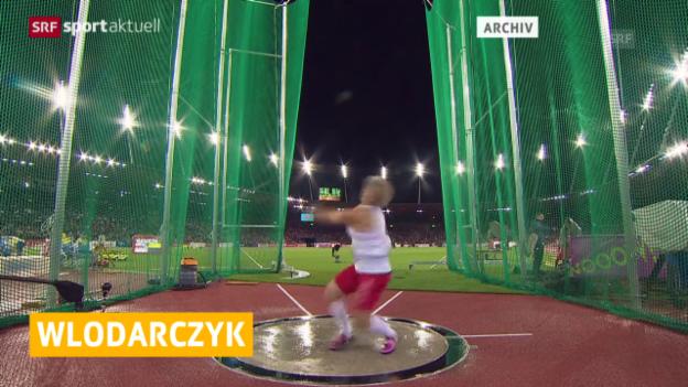 Video «Leichtathletik: Wlodarczyk erzielt Hammerwurf-Weltrekord» abspielen