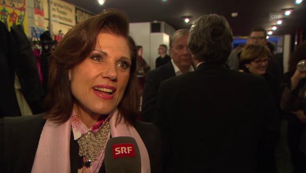 Video «Maja Brunner über ihren Auftritt mit Paola Felix» abspielen