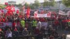 Video «Gemischt Reaktionen über Grossfusion in der Stahlbranche» abspielen