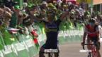 Video «Yates jubelt auf der 4. Etappe» abspielen