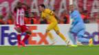 Video «Überlegenes Olympiakos verliert gegen Apoel» abspielen