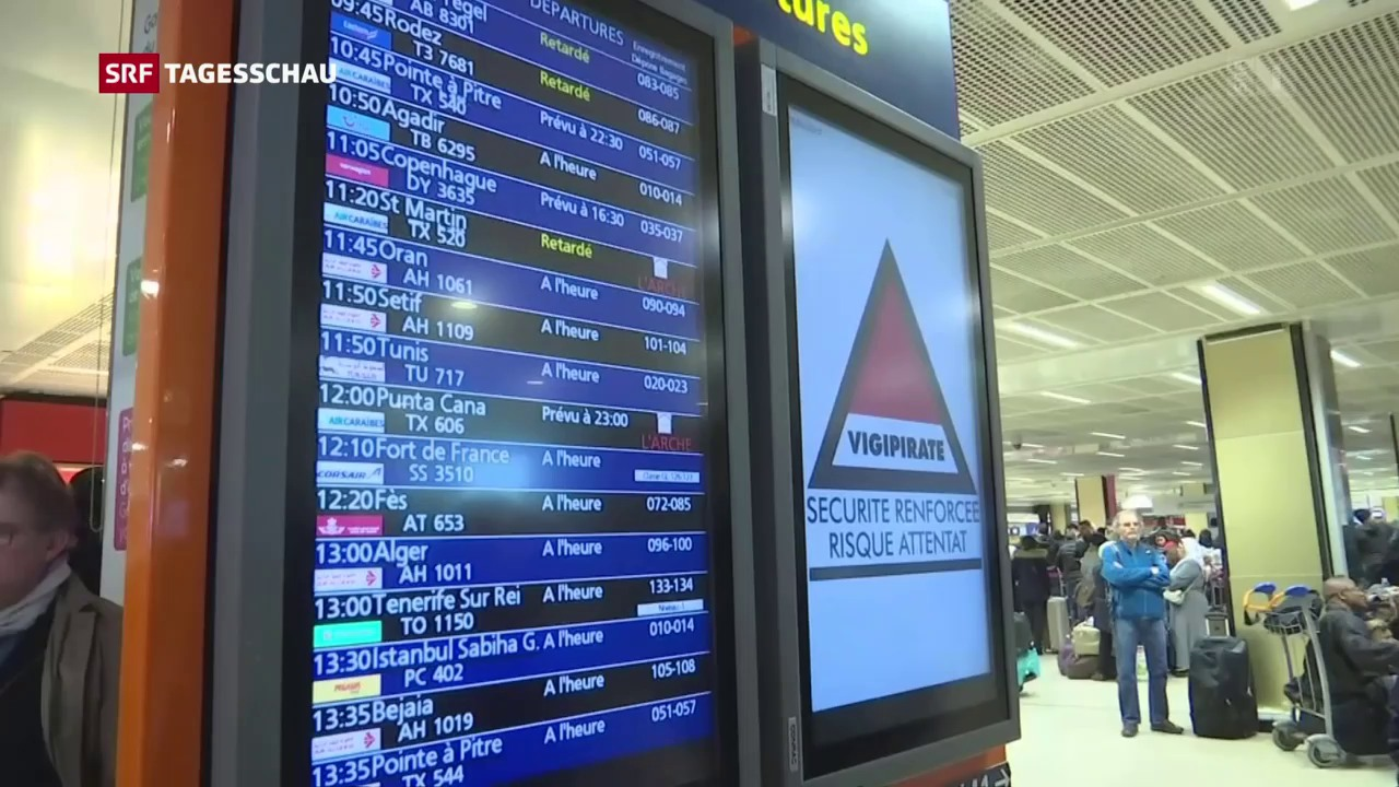 Angreifer an Pariser Flughafen erschossen
