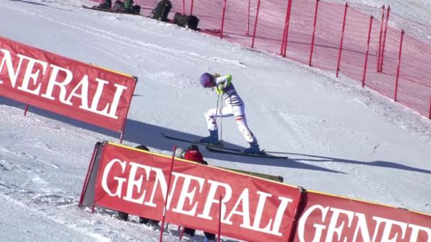 Video «SKI: Weltcup, Slalom Frauen Courchevel» abspielen