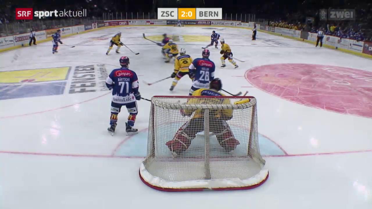 Eishockey: NLA, ZSC Lions - SC Bern