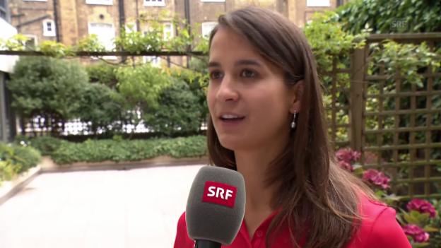 Video «Petra Fonative: «Gutes Gefühl, über die Hürden zu fliegen»» abspielen