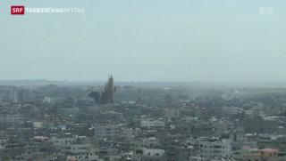 Video «Waffenbeschuss im Gazastreifen geht weiter» abspielen