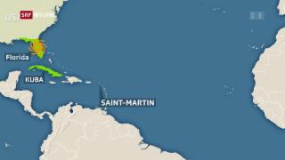 Video «FOKUS: Irma – die Stationen einer Katastrophe» abspielen