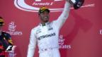 Video «Hamilton profitiert in Japan von Vettel-Ausfall» abspielen