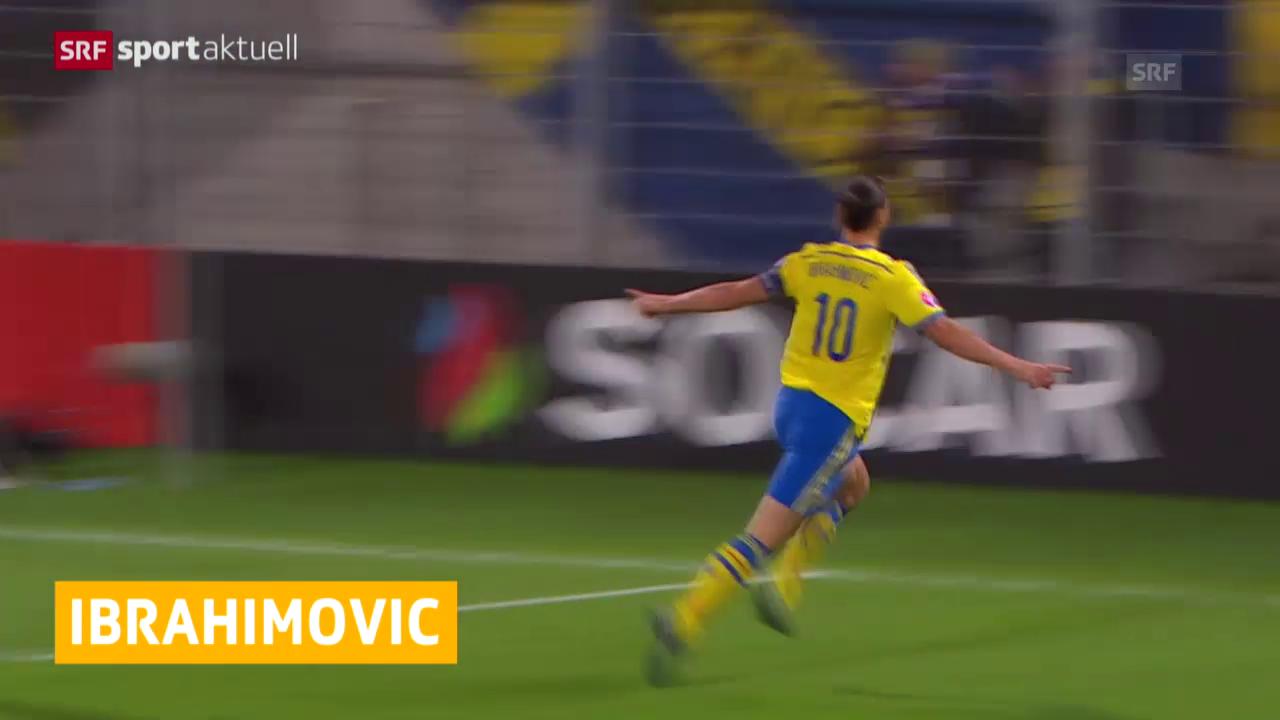 Fussball: Ibrahimovic ausgezeichnet