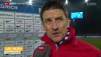 Video «Fussball: Stimmen zu FCZ - Basel» abspielen