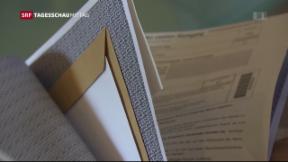 Video «Kuvert-Panne in Österreich» abspielen