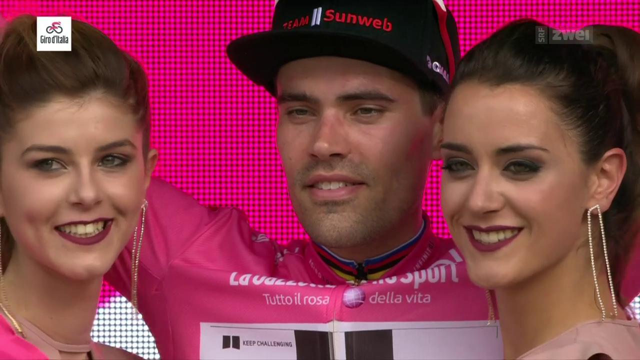 Tom Dumoulin schon wieder in rosa