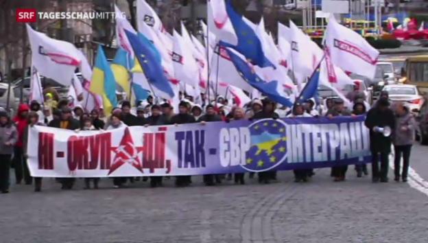 Video «Ukraine spielt mit dem Feuer» abspielen